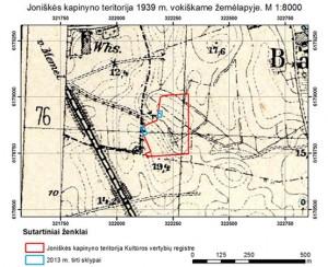 Kartografijos paslaugos - archeologiniai žemėlapiai