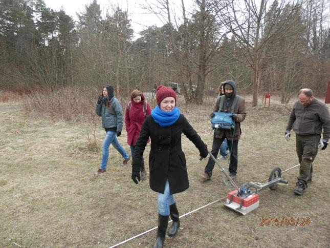 """Seminaras """"Geoprospekciniai metodai archeologijoje"""" Klaipėdos universitete"""