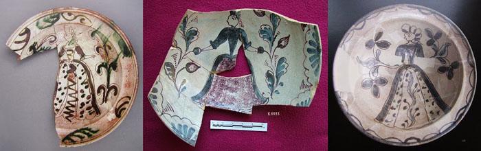 Klaipėdos senamiestyje aptikta keramika. Šaltinis: http://dziugasbrazaitis.blogspot.lt/