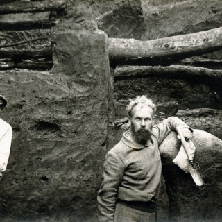 Apuolės piliakalnio tyrimai 1931 m. Kretingos muziejus