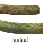 Joniškės kapinynas - apyrankių fragmentai. 2013 m. archeologiniai tyrimai