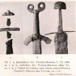 Joniškės kapinynas - kalavijas (Hoffmann 1941)