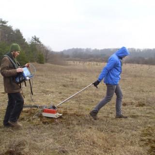 Georadaru vykdomi tyrimai